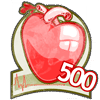 500 hearts!